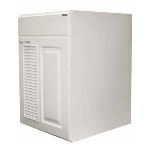 KITZCHO ตู้บานถังแก๊ส JSR-G-MV-8350X-WH ขาว