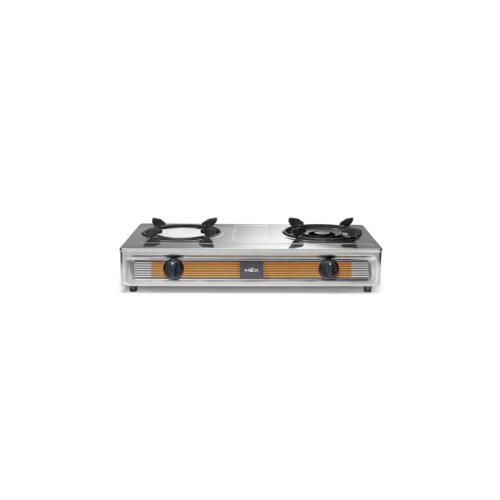 MEX เตาแก๊สหัวผสมชนิดตั้งโต๊ะ  PC5892IGX สีโครเมี่ยม