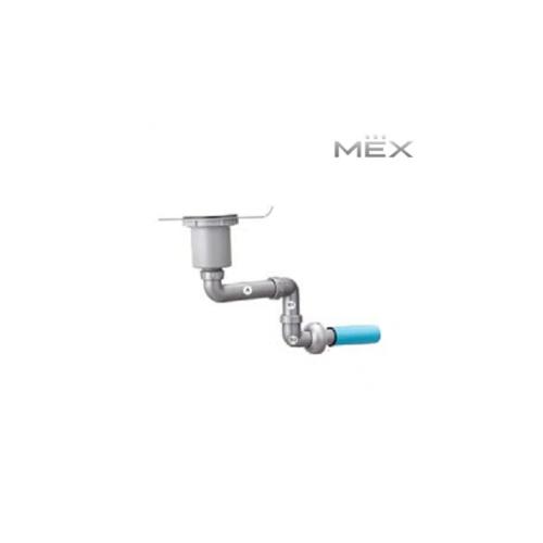 MEX ท่อระบายน้ำอ่างล้างจาน P41PP สีเทา