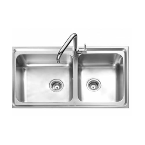 MEX อ่างล้างจานสเตนเลส DLS86B