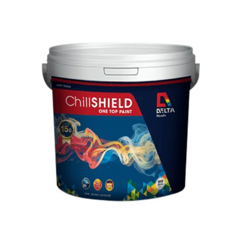 DELTA ชิลชิลด์ เบส A  ขนาด 2.5 กล. DELTA Chill SHIELD One Top Paint สีขาว