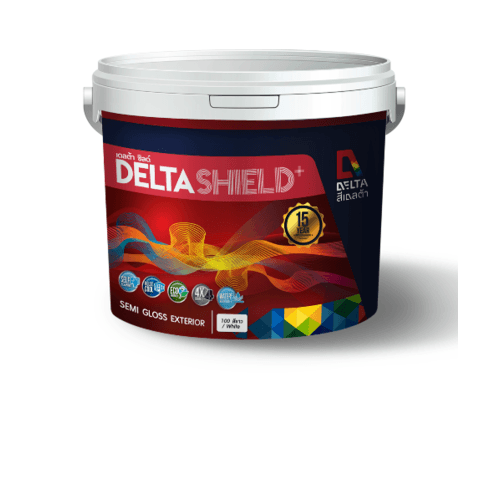 DELTA เดลต้าชิลด์พลัส เบส A ขนาด1 กล. Base A สีขาว