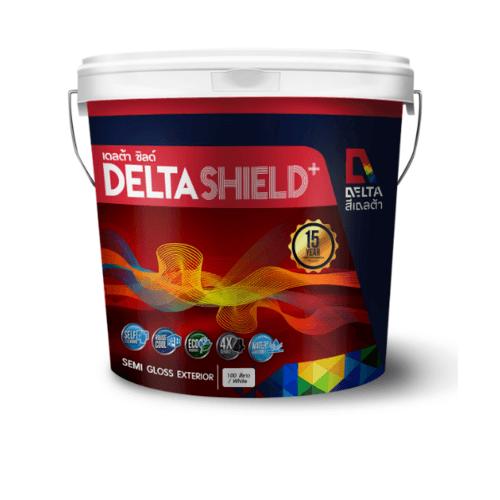 DELTA เดลต้าชิลด์พลัส  ขนาด2.5 กล. Base E สีขาว