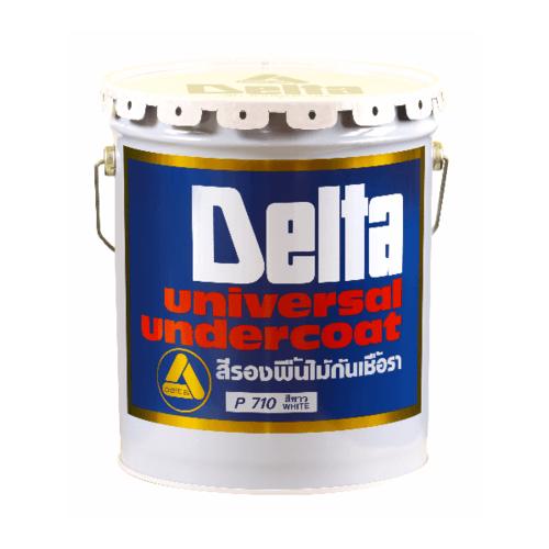 DELTA สีรองพื้นไม้กันเชื้อรา P 710 สีครีม