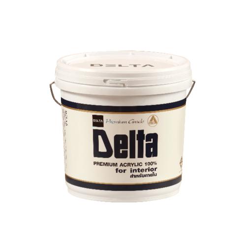 DELTA สีน้ำภายใน Base A  ขาว