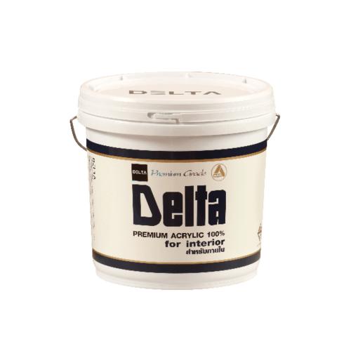 DELTA สีน้ำภายใน Base B ขาว