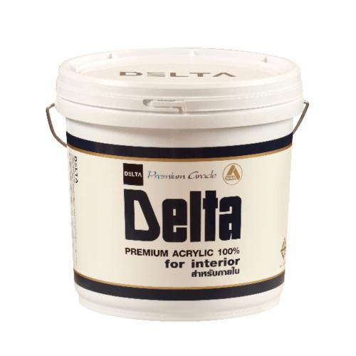 DELTA สีน้ำภายใน  Base C  ขาว