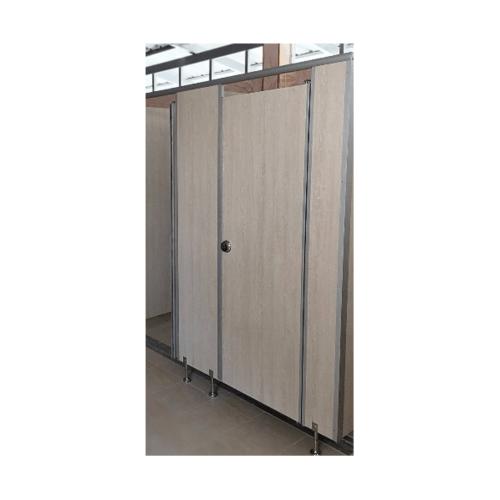 CHAMP ผนังห้องน้ำเฉพาะบาน (1.50x1.50ม.) สีครีม TOILET PARTITION DOOR สีครีม