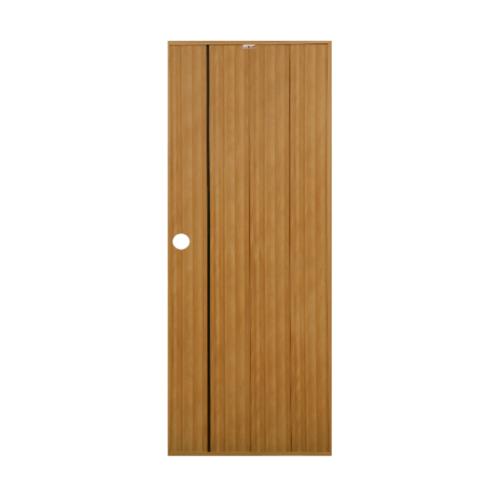CHAMP ประตูพีวีซี ขนาด 70x180ซม. สีสักทอง/โอ๊ค Idea-IT1