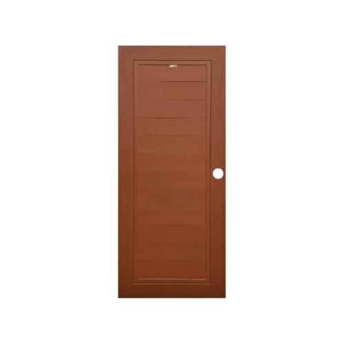 CHAMP ประตูแชมป์  WPC (80X200) สีโอ๊คแดง MWi-1 สีโอ๊คแดง