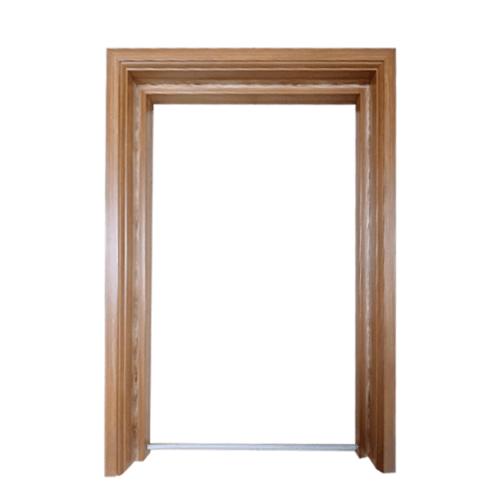 CHAMP วงกบประตูพีวีซีขนาด70x180ซม. P สีลายไม้สักทอง