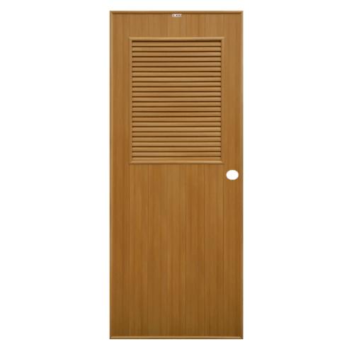 CHAMP ประตูขนาด 80x200 ซม. P3 สีลายไม้สักทอง