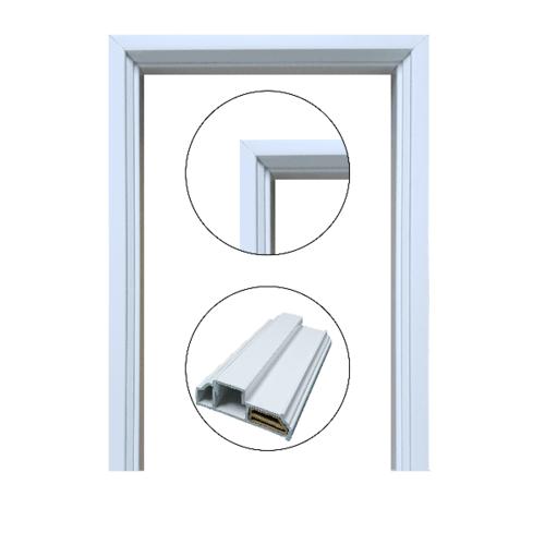 CHAMP วงกบประตู ขนาด 80x200 ซม. UPVC  สีขาว