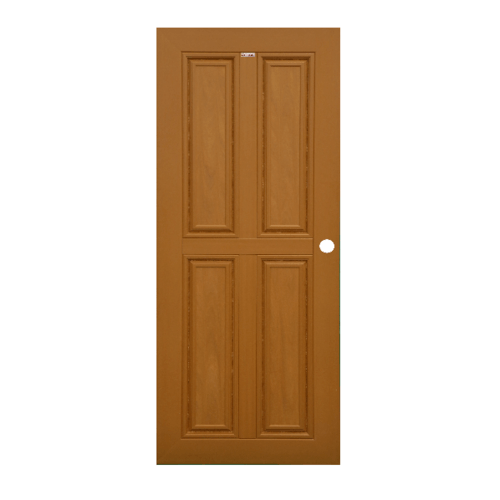 CHAMP ประตูขนาด70x200 ซม. สีสักทอง M-WPC-2
