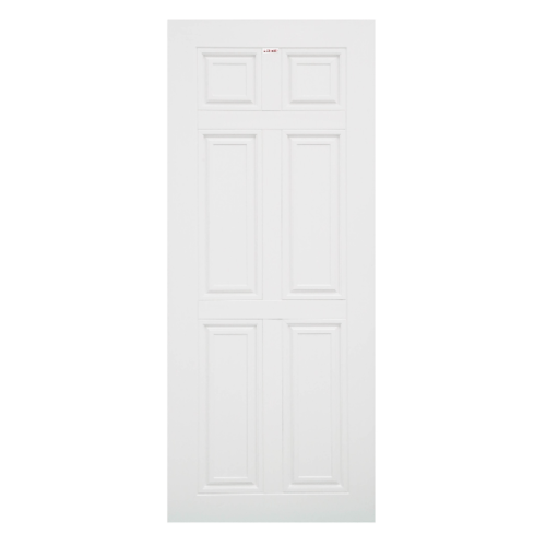CHAMP ประตูไวนิล ขนาด 80x200ซม. (ไม่เจาะ)  MU-1 สีขาว