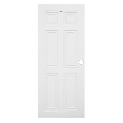 CHAMP ประตู  UPVC  ขนาด (90x200)ซม.   MU-1 สีขาว