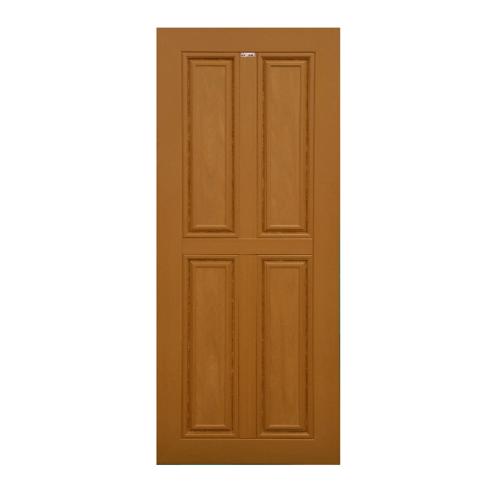 CHAMP ประตูแชมป์ ขนาด 90x200 ซม. MW-2 WPC สีสักทอง
