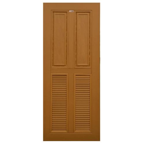 CHAMP ประตู ขนาด90X200ซม. สีสักทอง MW3-WPC