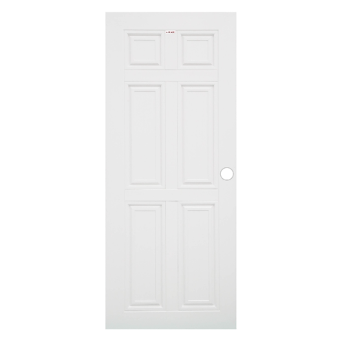 CHAMP ประตูUPVC  ขนาด (90x200)ซม. MU-1 สีขาว