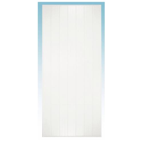 CHAMP ประตู ขนาด (90x200)ซม. M1 (ไม่เจาะ) สีขาว