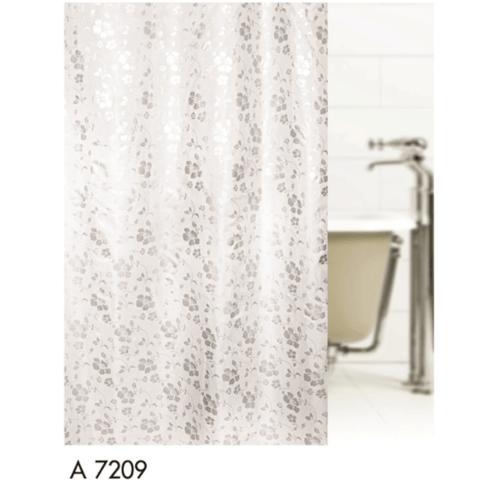 WSP ม่านห้องน้ำเนื้อผ้า SCP-3L คละลาย