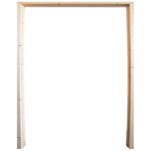 WINDOOR วงกบประตู  เรดวูด ขนาด 160x200 ซม.2x4นิ้ว COM 6