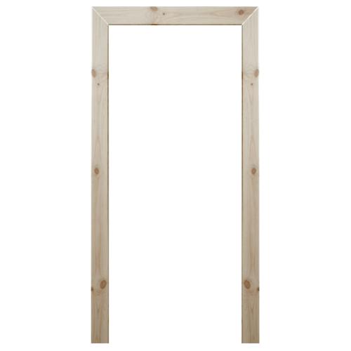 WINDOOR ชุดซับวงกบไม้เรดวูด ขนาด (80x200) 1.5x4.8ซม.  Com-1