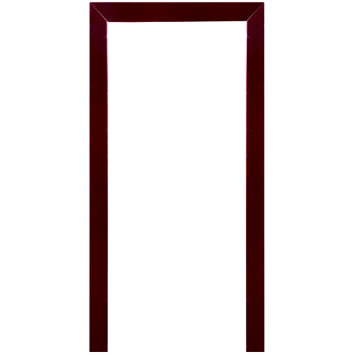 WINDOOR ชุดซับวงกบไม้เรดวูด ขนาด (80x200ซม.) 1.5x9.5ซม. (ทำสี) Com 1