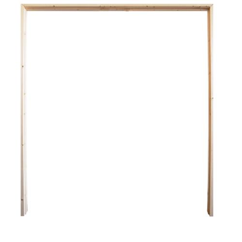 WINDOOR วงกบประตู เรดวูด ขนาด160x220 ซม. Com 6