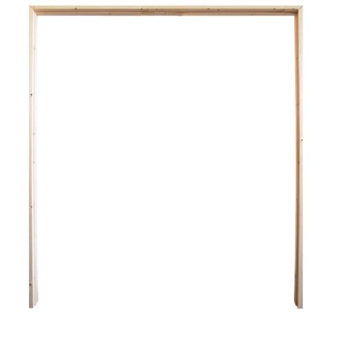 WINDOOR วงกบประตู  เรดวูด ขนาด180x220  ซม. Com 6
