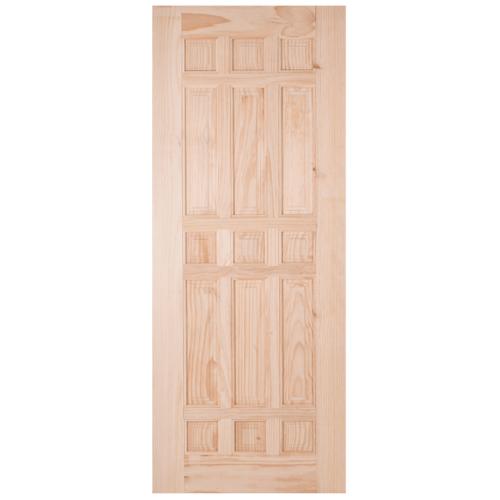 WINDOOR ประตูไม้สน บานทึบลูกฟัก ขนาด 70x200ซม. CE119