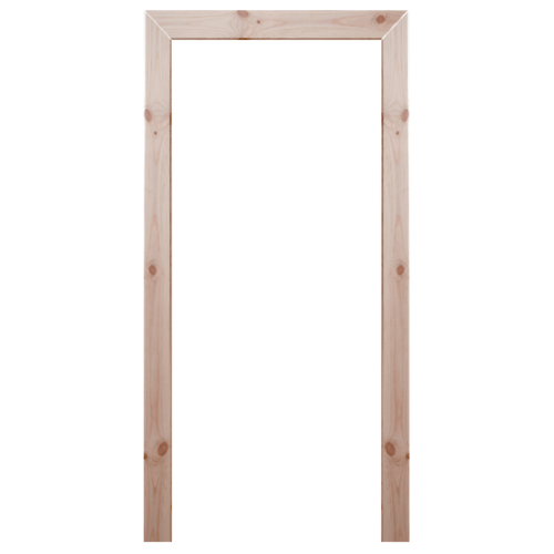 WINDOOR  ชุดซับวงกบประตูไม้เรดวูด ขนาด  100x200ซม. Com 1