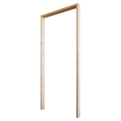 WINDOOR วงกบประตูไม้เรดวูด ขนาด 90x220ซม.  Com1