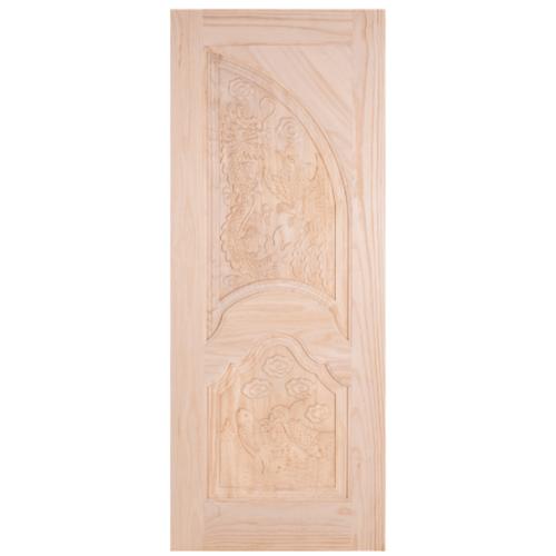 WINDOOR ประตูสลักลายไม้สนนิวซีแลนด์ขนาด 70x200 ซม. LA 111