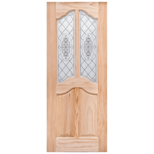 WINDOOR ประตู+กระจก สนNz  ขนาด 90x200 ซม. T/H 45