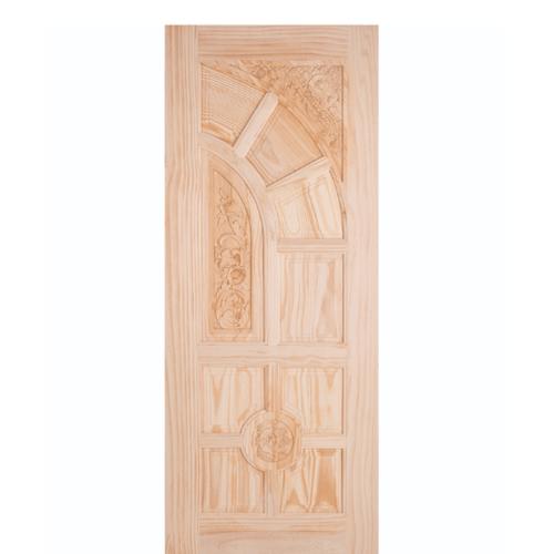WINDOOR ประตูสลักลาย ไม้สนนิวซีแลนด์ขนาด 70x200ซม. L 666
