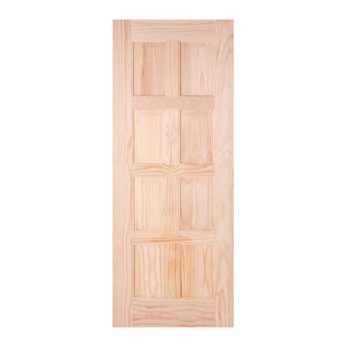 WINDOOR ประตูลวดลาย สนNZ  ขนาด 90x200ซม. L 116-8 สีเหลือง