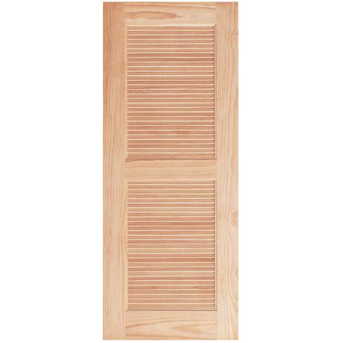 WINDOOR ประตูลวดลาย L 150 สนNz 80x200 L 150 สีเหลือง
