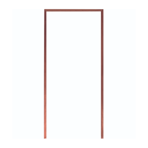 WINDOOR วงกบประตู เต็งแดง ขนาด90x200ซม.4x2  นิ้ว     Com 1 สีน้ำตาล