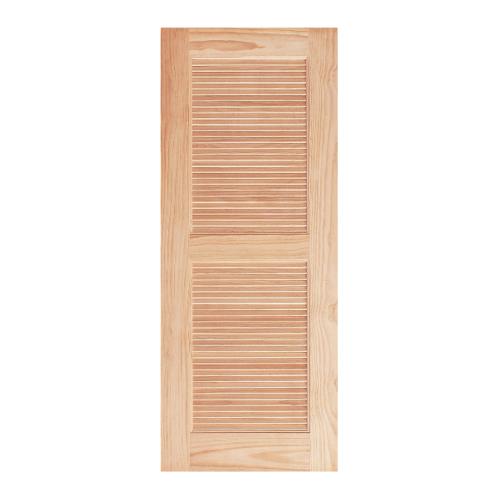 WINDOOR ประตูลวดลาย L 150 สนNz 90x200  L 150 สีเหลือง