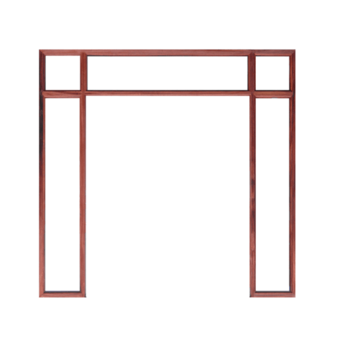 WINDOOR วงกบประตู  ขนาด160x200 ซม. 4x2นิ้ว COM 8