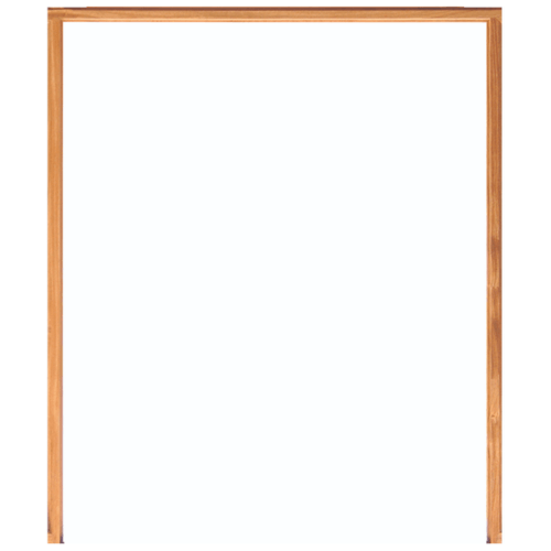 WINDOOR วงกบประตู เต็งแดง ขนาด 160x200 ซม. 2x4นิ้ว COM 6 สีน้ำตาลเข้ม