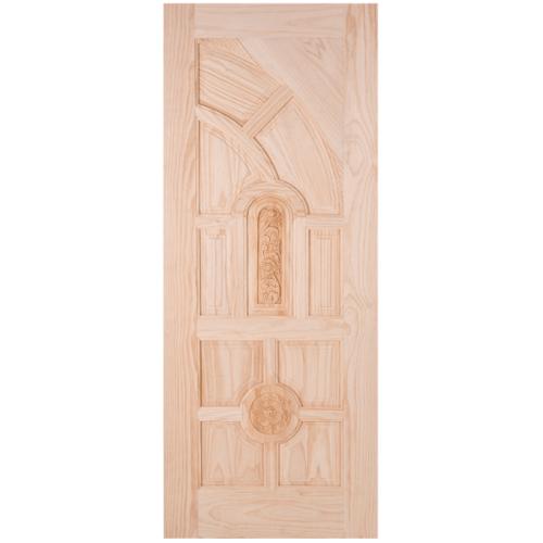 WINDOOR ประตูสลักลาย สนNz  ขนาด 80x200ซม. L 555