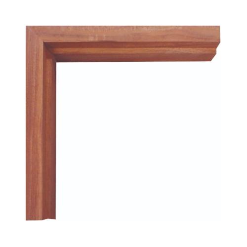 WINDOOR วงกบประตู  เต็งแดง ขนาด 180x200 ซม. 2x4 นิ้ว COM 6 สีน้ำตาลเข้ม
