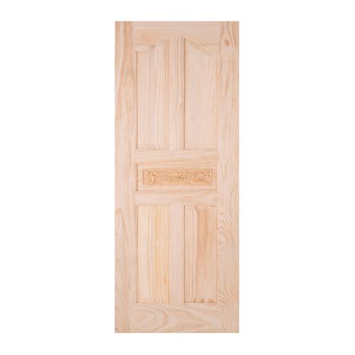 WINDOOR ประตูสลักลาย L 118 สนNz 90x200 L 118 สีเหลือง