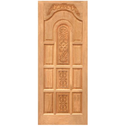 WINDOOR ประตูสลักลาย ไม้สนนิวซีแลนด์ ขนาด 80x200ซม. LA 01