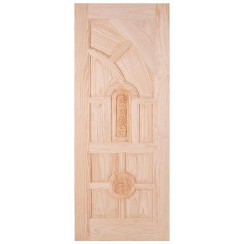 WINDOOR ประตูลวดลายไม้สนนิวซีแลนด์  ขนาด90x200ซม.  L 555