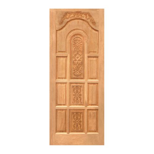 WINDOOR ประตูลวดลายไม้สน Nz  ขนาด100x200ซม. LA 01 สีเหลือง
