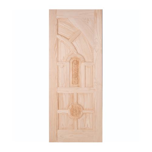 WINDOOR ประตูสลักลาย L 555 สนNz 70x200 L 555 สีเหลือง