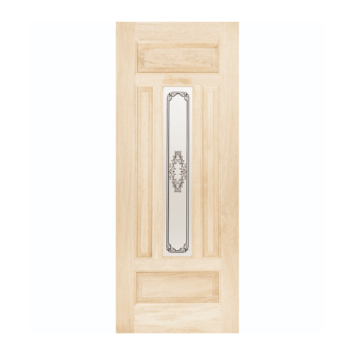 WINDOOR ประตู+กระจก สนนิวซีแลนด์ ขนาด 80x200 TASMANIAN